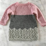 Hipster wool sweater dress for girls