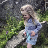 Frost Cardigan knitting pattern for kids