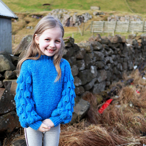 Arktis sweater pattern for Kids