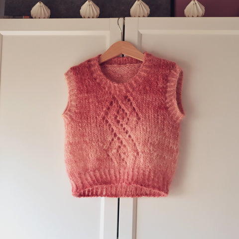 Kirvi vest knitting pattern for kids