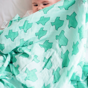 Texas Love Baby Swaddle