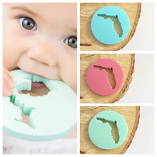 Load image into Gallery viewer, Michigan Silicone Baby Teether