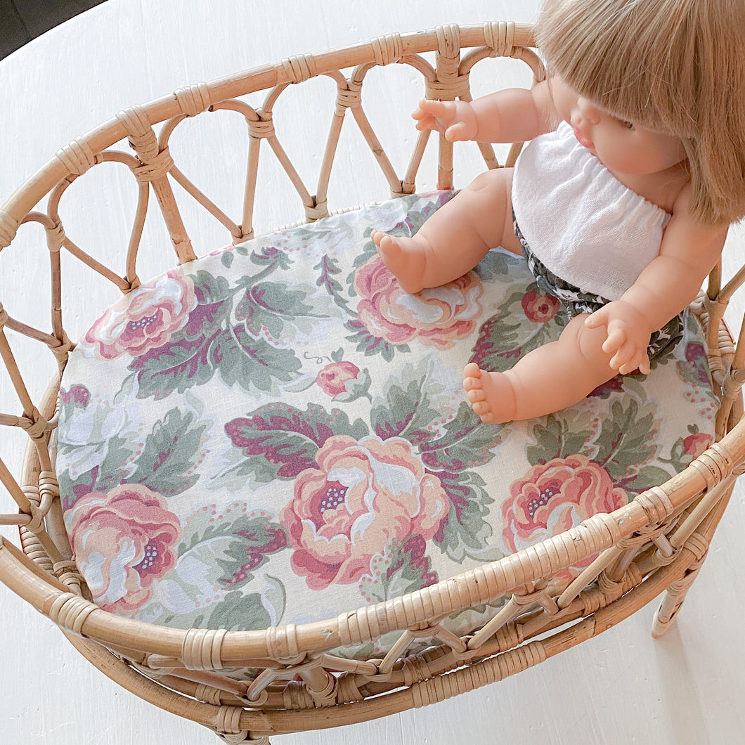 Crib Sheet - limited vintage floral