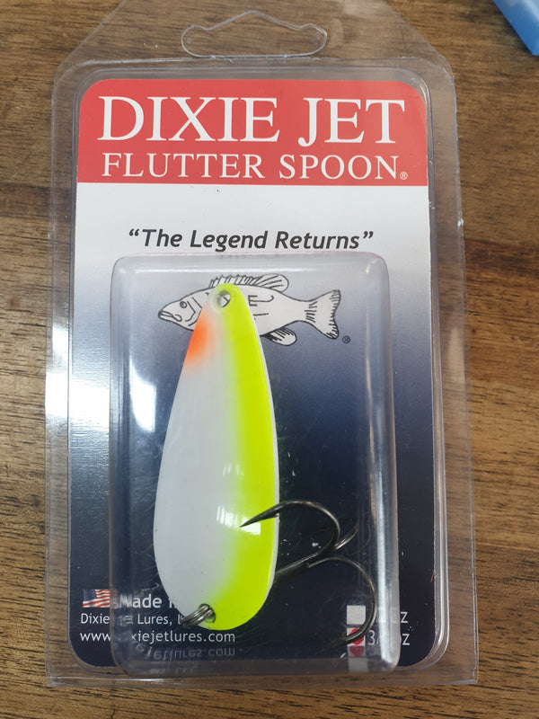 Dixie jet flutter spoon 50mm