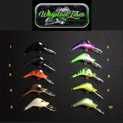 Whiptail Piglet Lures 55mm