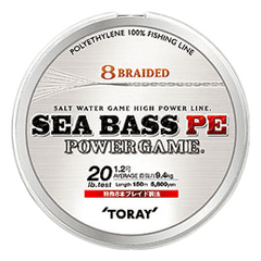 Toray Sea bass PE Power game braid