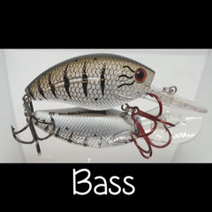 Custom Livingston Crank Bait Howeller