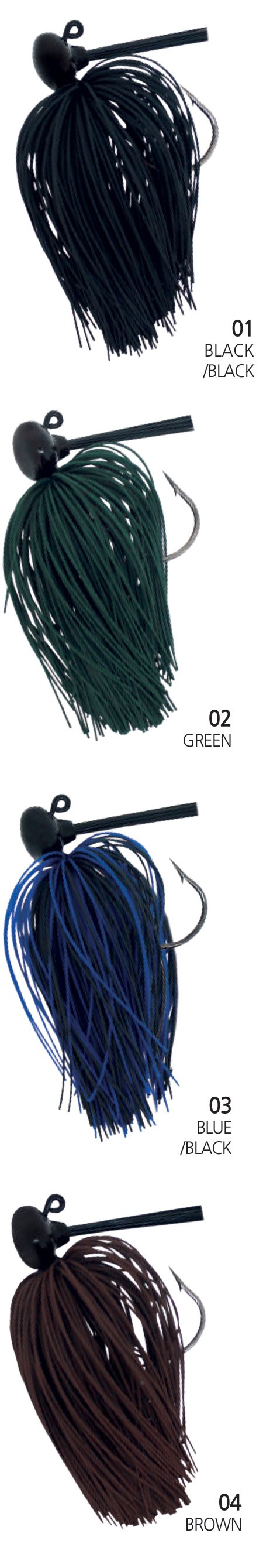 Damiki Football Jig 3/8oz