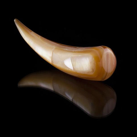 Mother of pearl ear stretcher