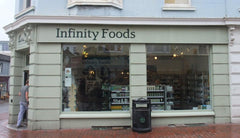 inifinity foods brighton tribalik recommends for Christmas