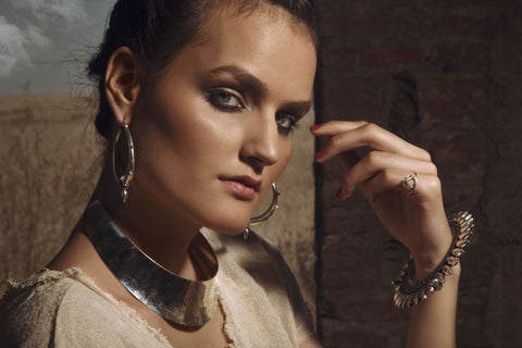 solid silver tribal jewellery