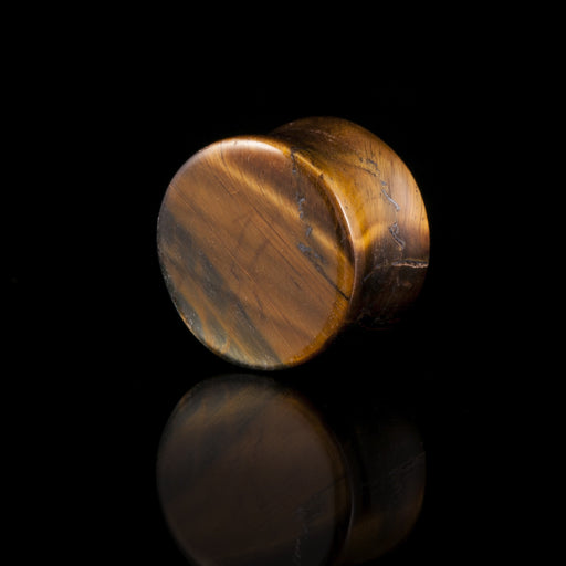 Tigers Eye Ear Plug