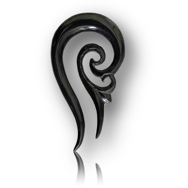 Buffalo Horn Filigree Ear Stretcher