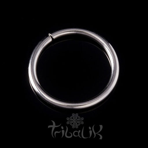 Stainless Steel Silver Colour Seamless Ring