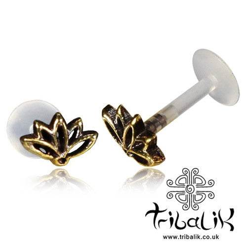 Lotus Flower Labret Stud/Bar