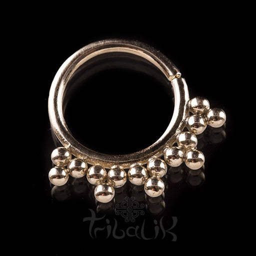SIRIANO 14k Solid Gold Septum Ring