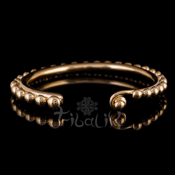 18k Gold Plated Bangle | Hill Tribe