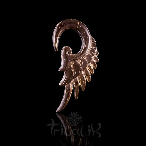 Coconut Shell Ear Stretcher / Expander Wings