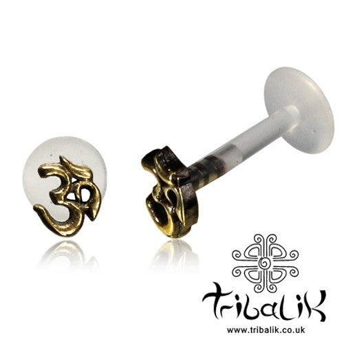 Ohm Flower Labret Stud/Bar