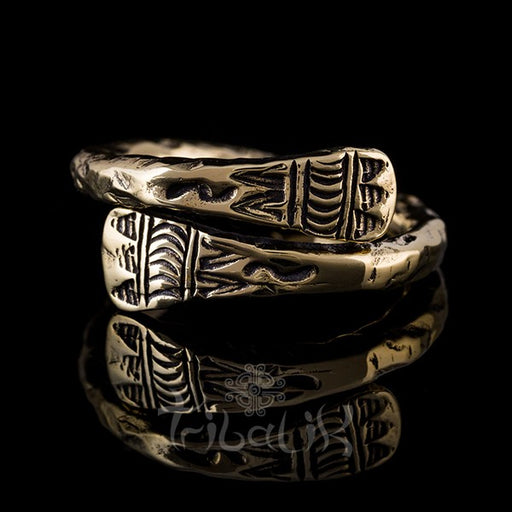 Brass Adjustable Ring | Hill Tribe Inspired