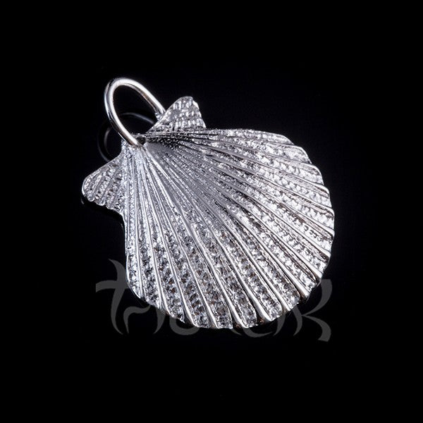 Silver Pendant Sea Shell