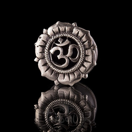 OHM SHANTI White Bronze Ear Tunnels - Plugs - Eyelets