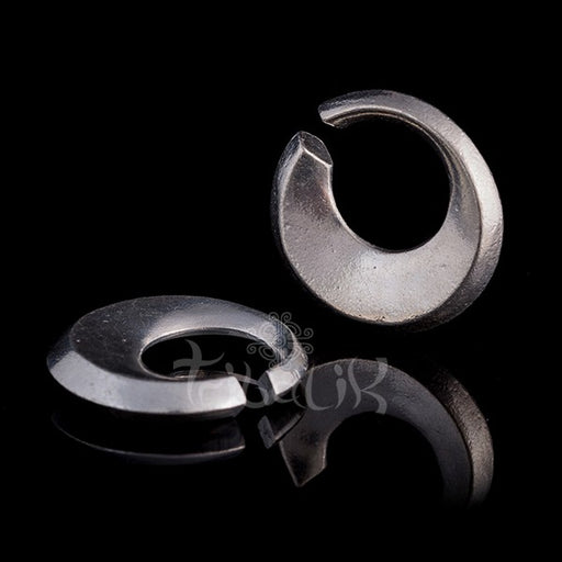 Brass Circle Ear Weights 4mm Gauge
