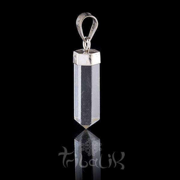 Quartz and Silver Pendant