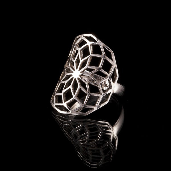 sterling silver flower of life