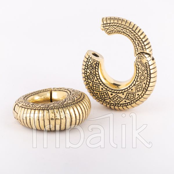 Brass Ear Weights- Monarch