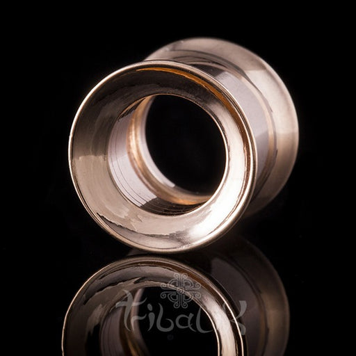 Surgical Steel Rose Gold Tunnel / Eyelet