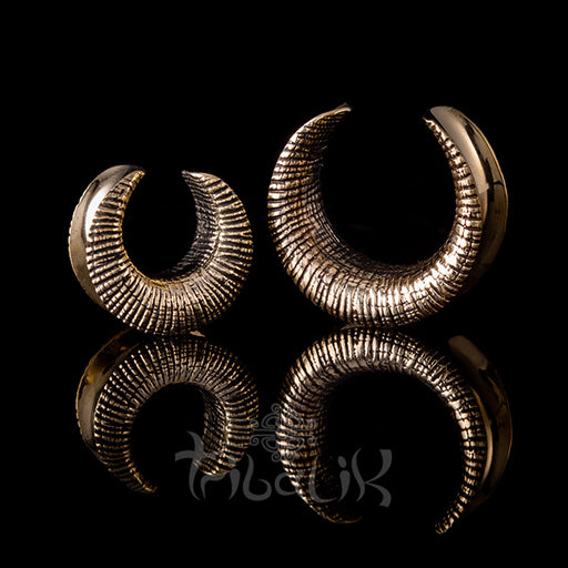 Brass Ear Saddles - Raw