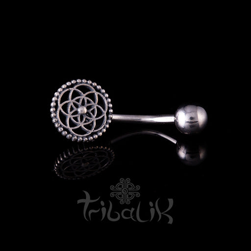 flower of life belly bar