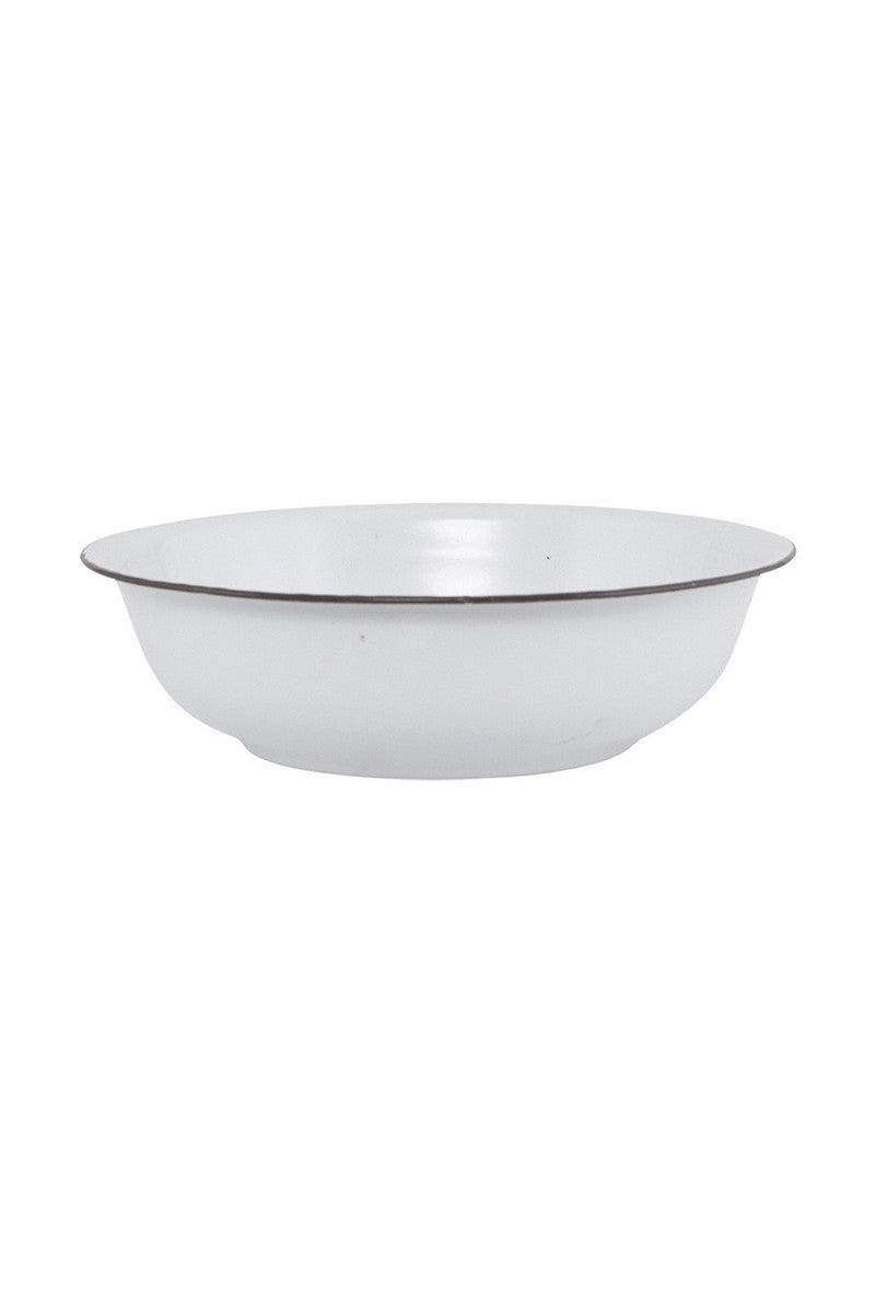 Meraki Danish Homewares White Metal Basin Bowl Stockists Auckland gift ideas Ponsonby