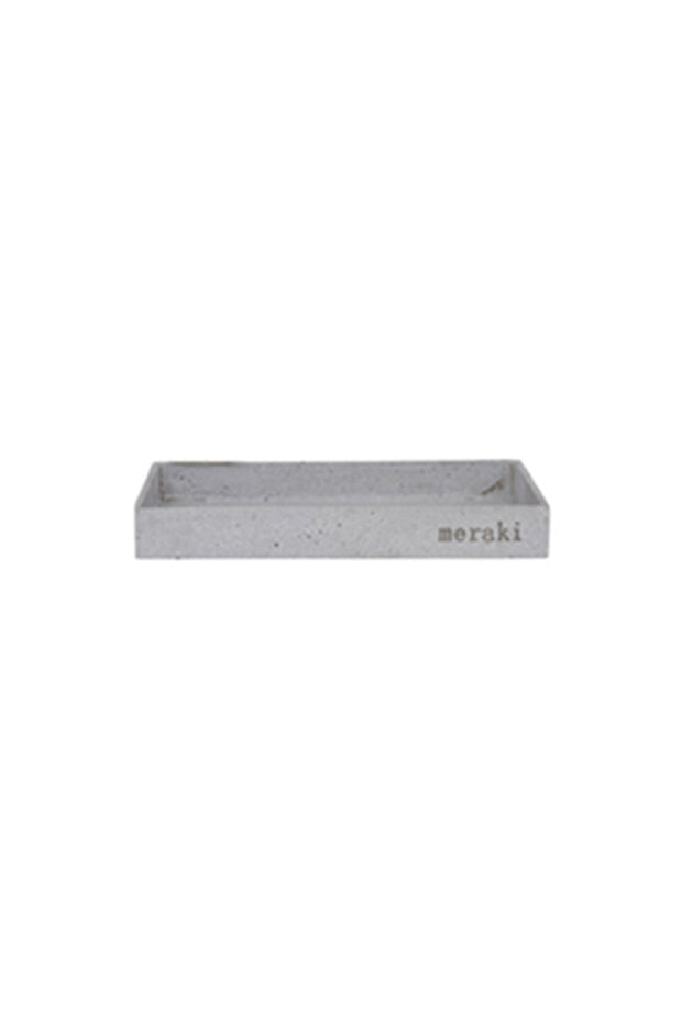 meraki danish homewares display concrete tray