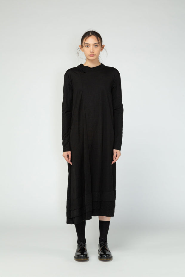 Ritual dress Nom*d NZ made NZ designer black new season NZ fashion