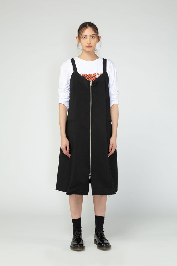 Turnover pinafore nom*d reversible made in New Zealand NZ designer ethical clothing