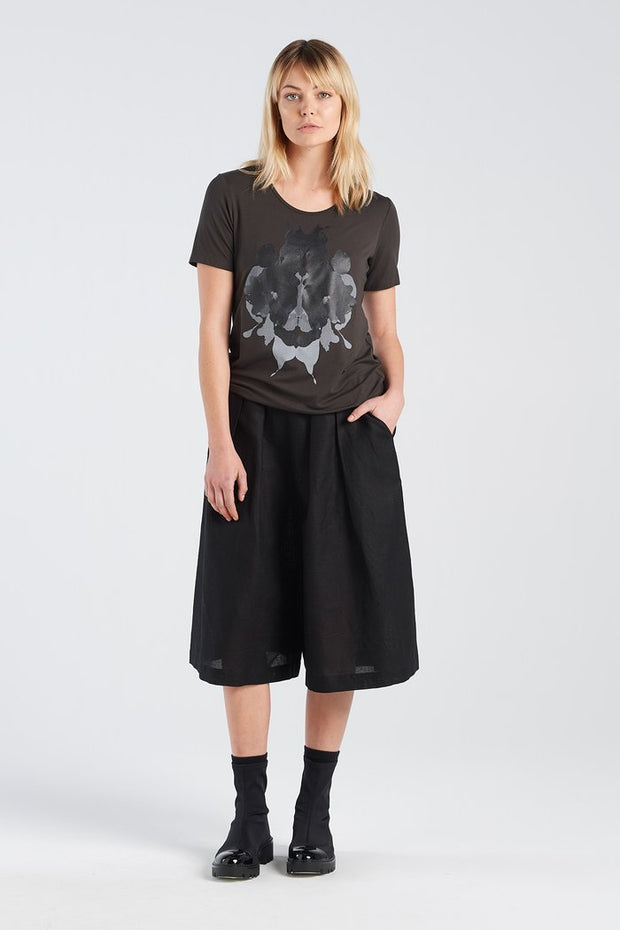 Aida T-shirt New Zealand made quality Nyne Auckland stockist famous print original Rorschach ink