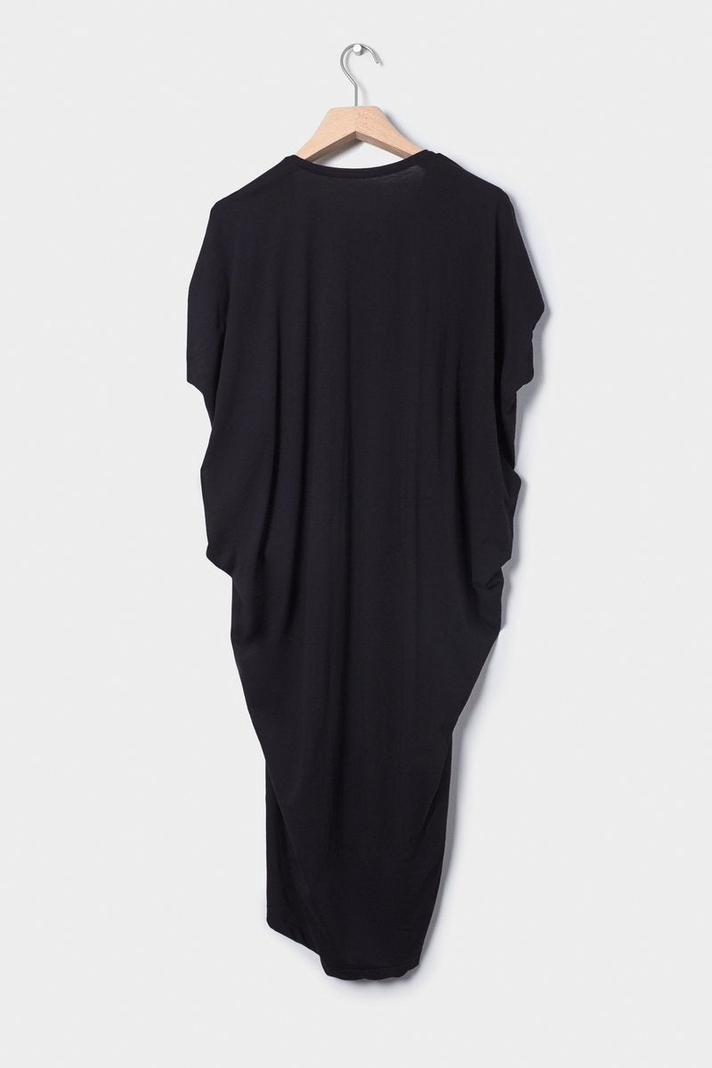 kowtow drape dress ethical organic fairtrade cotton NZ Designer stockists new zealand fashion shop online ponsonby