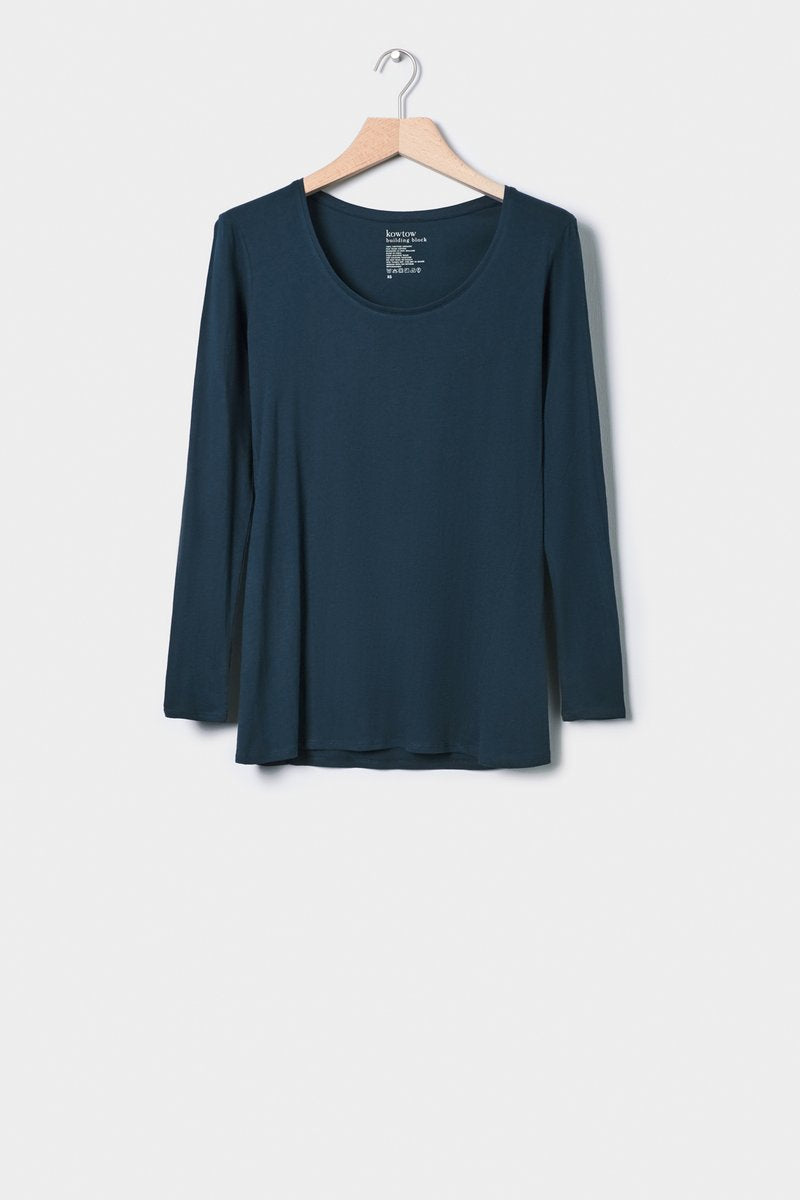 kowtow building block long sleeve long sleeve tee organic cotton ethical clothing stockists Auckland ponsonby