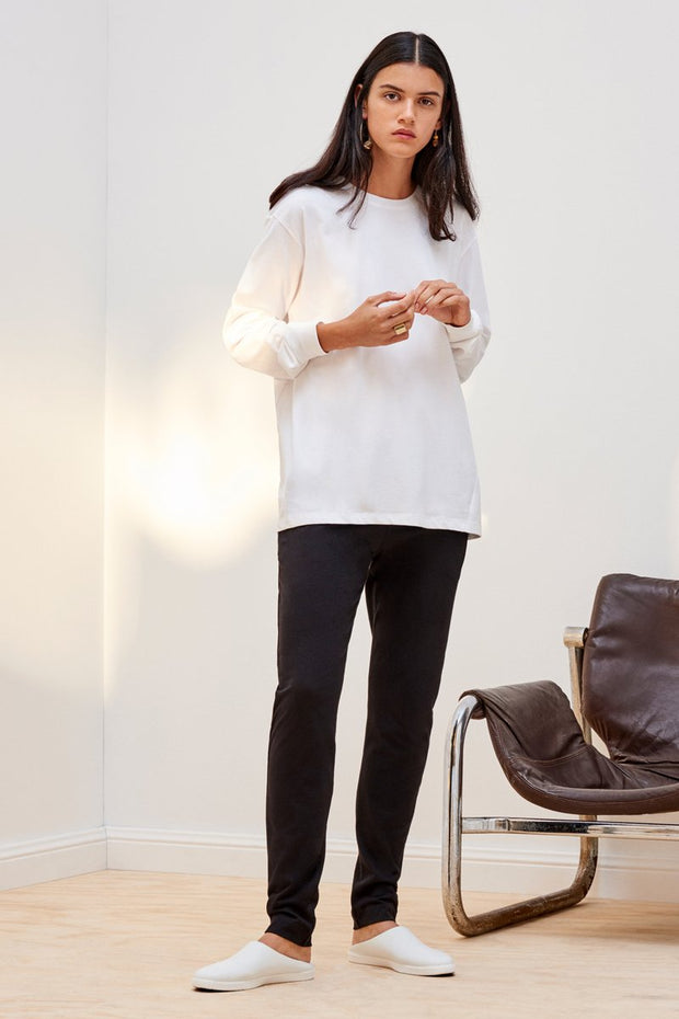 kowtow building block pant black organic cotton ethical clothing stockists Auckland Ponsonby