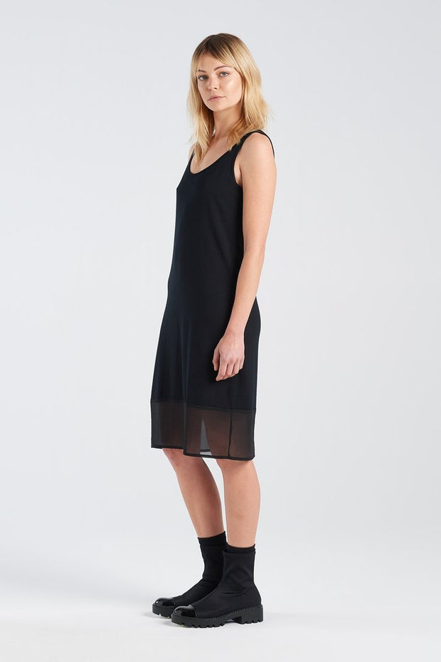Nyne stockists Block Dress Black NZ Designer NZ made