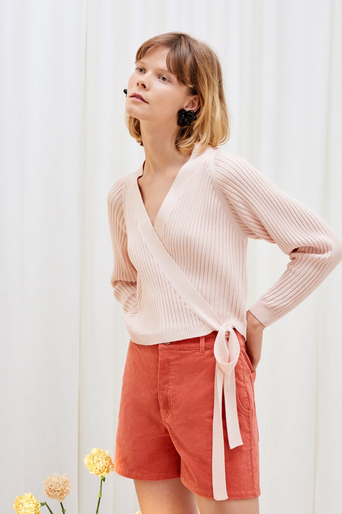 kowtow composure cardigan cotton knit organic cotton ethical clothing stockists Auckland Ponsonby