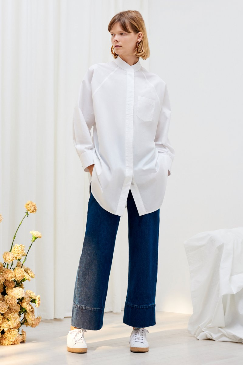 kowtow just love shirt white organic cotton ethical clothing stockists Auckland Ponsonby