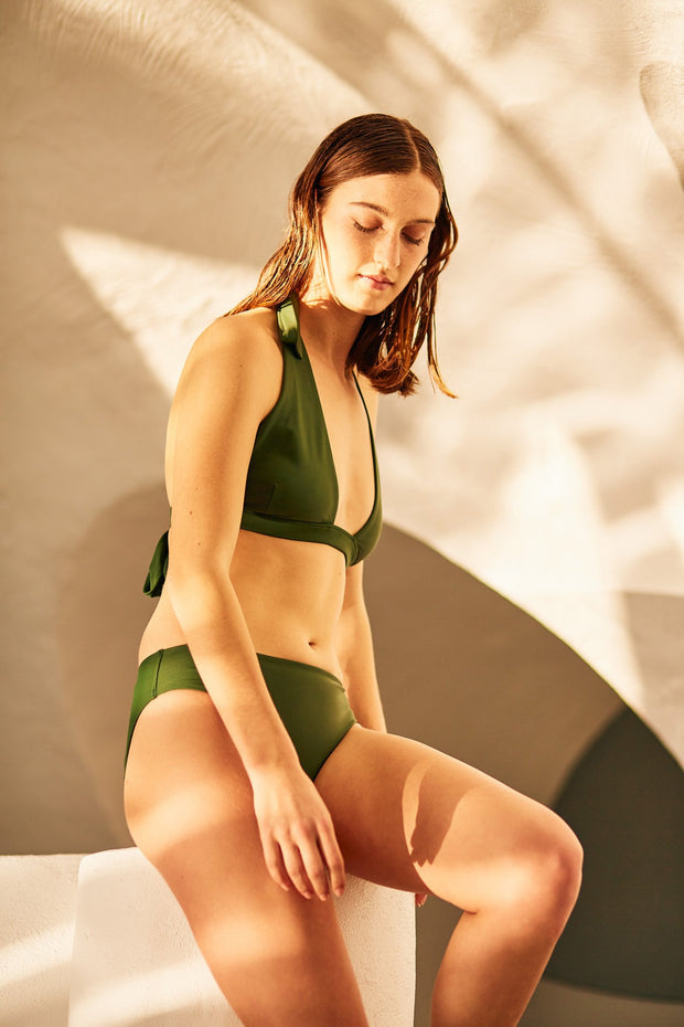 Kowtow triangle bikini top organic cotton ethical clothing stockists Auckland Ponsonby