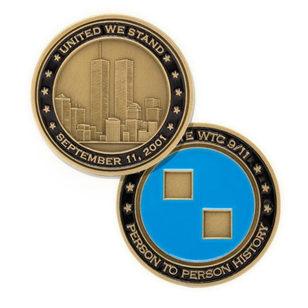 9/11 Tribute Center Commemorative Bronze Coin -  Gifts at the 9/11 Tribute Museum