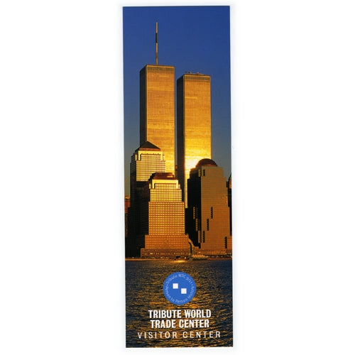 Large Twin Towers Bookmark -  Gifts at the 9/11 Tribute Museum
