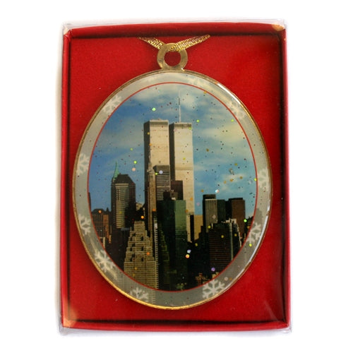 Twin Towers Ornament -  Gifts at the 9/11 Tribute Museum
