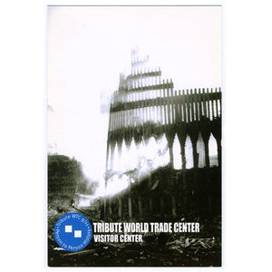 World Trade Center Facade Postcard -  Gifts at the 9/11 Tribute Museum