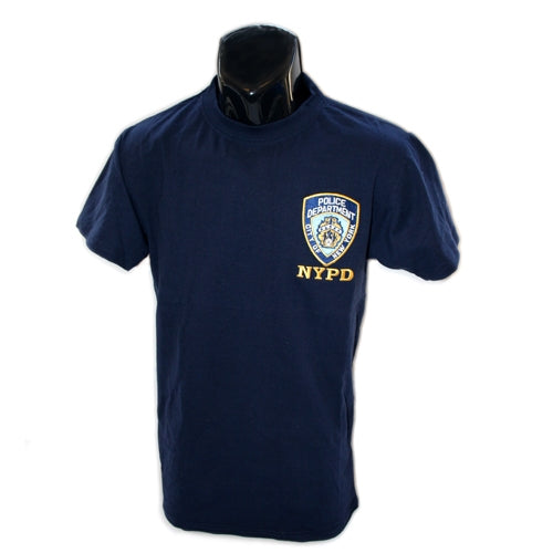 NYPD Emblem Patch T-Shirt -  Apparel at the 9/11 Tribute Museum